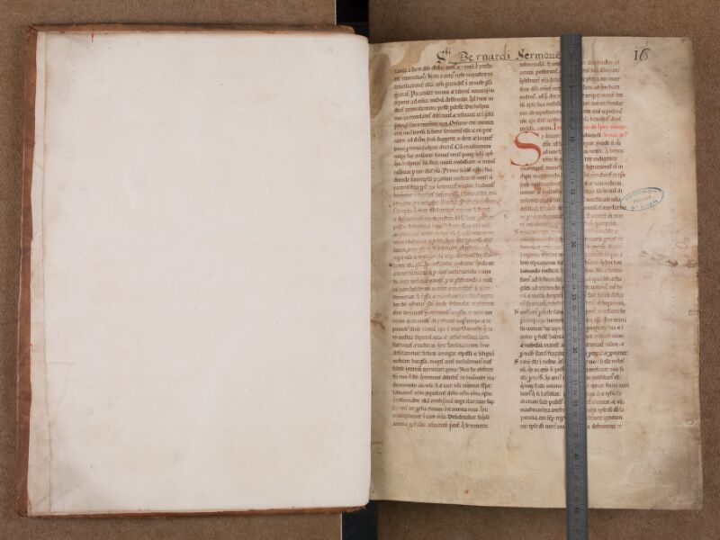 SAINT-OMER, Bibliothèque municipale, 0139, f. 000Av -f. 001 avec réglet