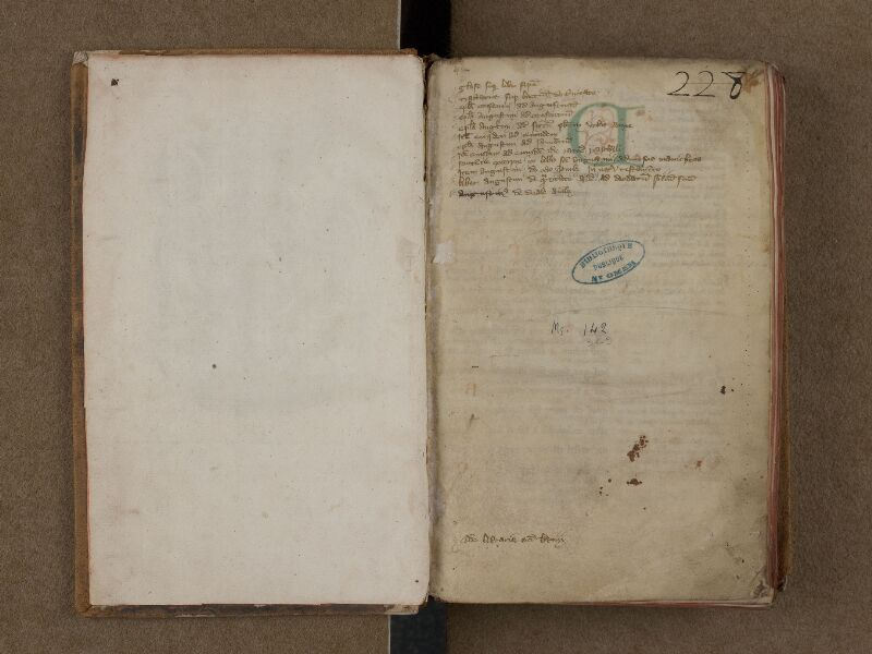 SAINT-OMER, Bibliothèque municipale, 0142, f. 000Av - f. 001