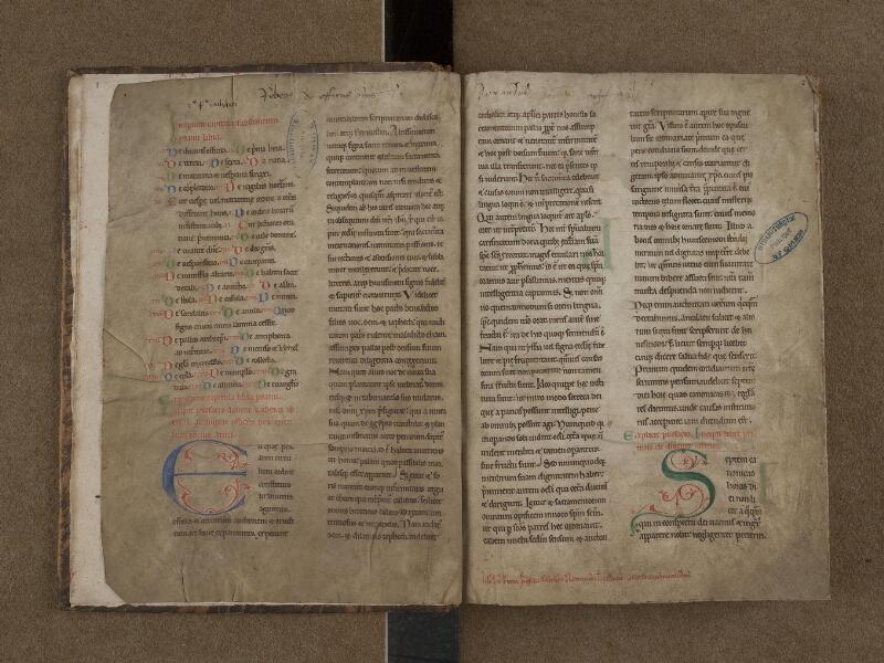 SAINT-OMER, Bibliothèque municipale, 0148, f. 001v - 002