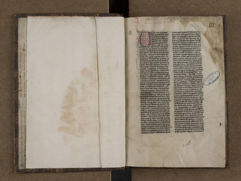 SAINT-OMER, Bibliothèque municipale, 0149, f. 000Bv - f. 001
