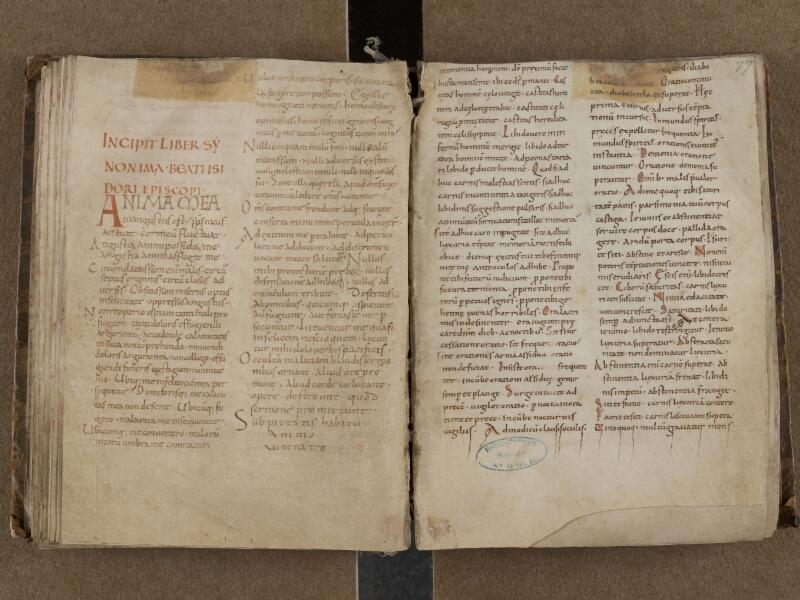 SAINT-OMER, Bibliothèque municipale, 0150, f. 076v - 077r