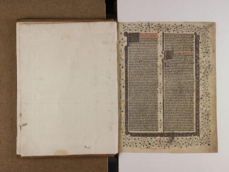 SAINT-OMER, Bibliothèque municipale, 0163, f. 000Cv - f. 001