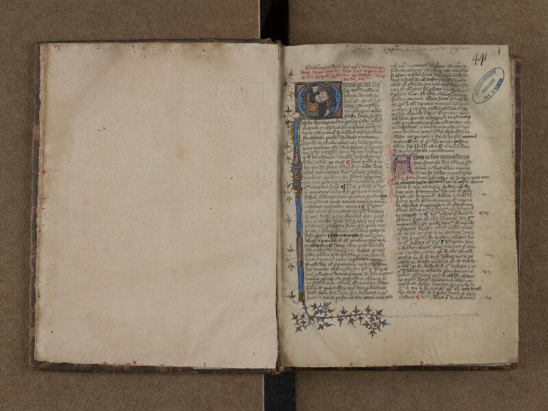 SAINT-OMER, Bibliothèque municipale, 0165, f. 000Bv - f. 001