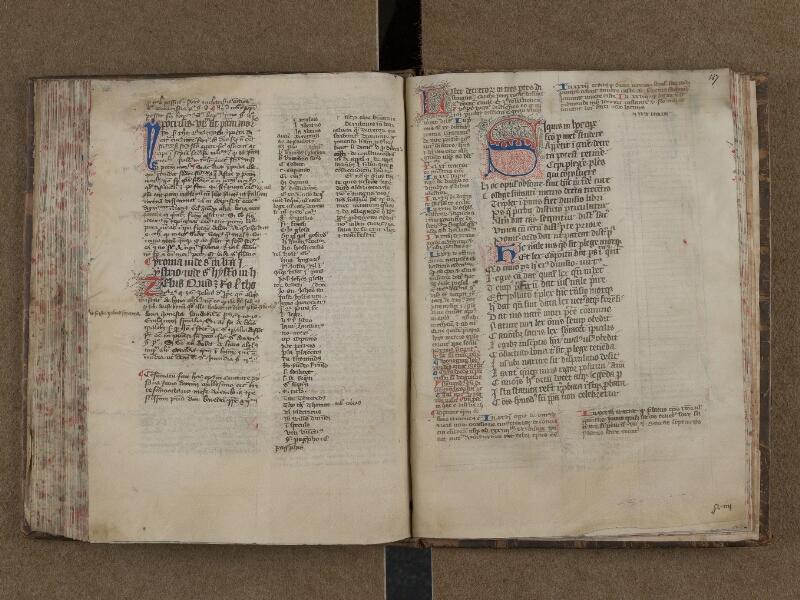 SAINT-OMER, Bibliothèque municipale, 0165, f. 146v - 147