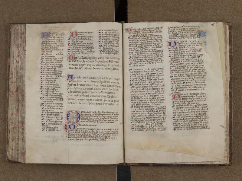 SAINT-OMER, Bibliothèque municipale, 0165, f. 153v - 154