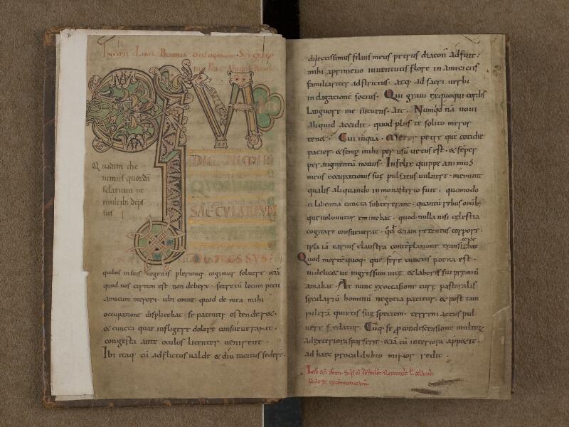 SAINT-OMER, Bibliothèque municipale, 0168, f. 001v - 002