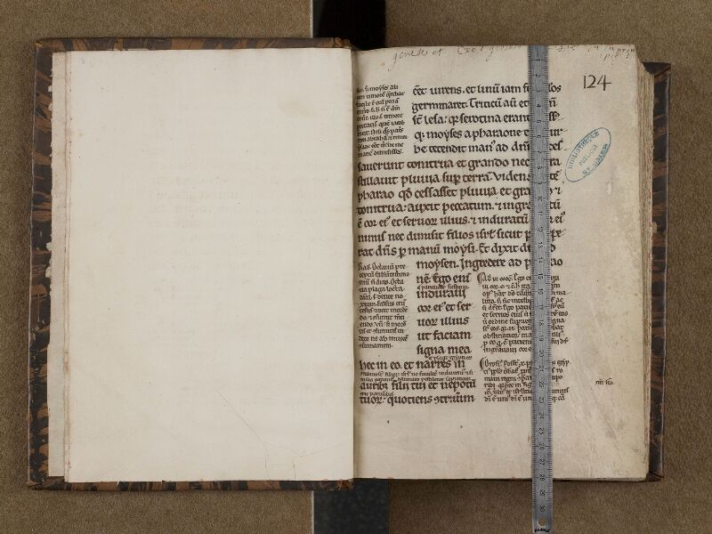 SAINT-OMER, Bibliothèque municipale, 0177, f. 000Bv - 001 avec réglet