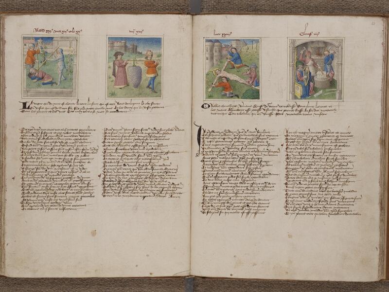 SAINT-OMER, Bibliothèque municipale, 0183, f. 022v - 023r