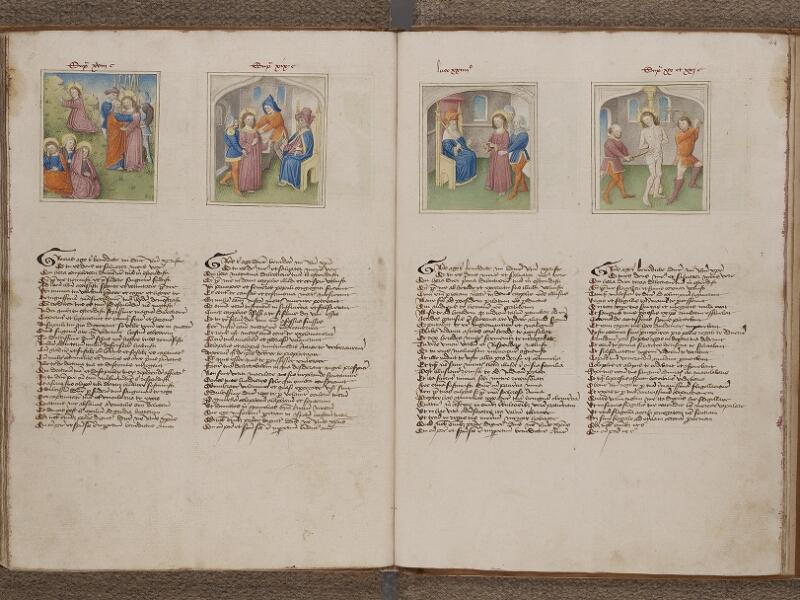 SAINT-OMER, Bibliothèque municipale, 0183, f. 043v - 044r