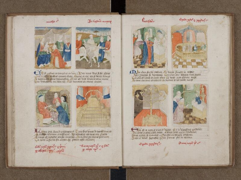 SAINT-OMER, Bibliothèque municipale, 0184, f. 008v - 009