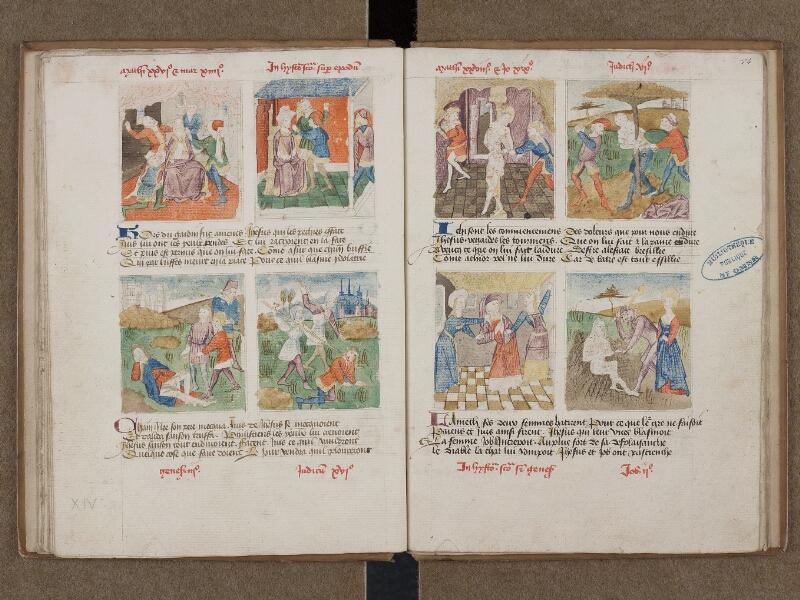 SAINT-OMER, Bibliothèque municipale, 0184, f. 013v - 014