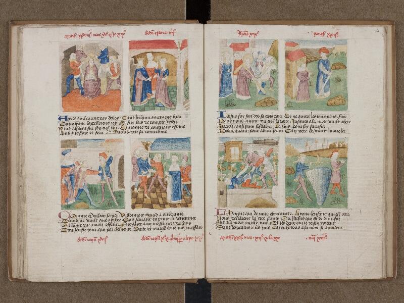 SAINT-OMER, Bibliothèque municipale, 0184, f. 014v - 015