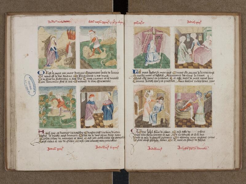 SAINT-OMER, Bibliothèque municipale, 0184, f. 018v - 019
