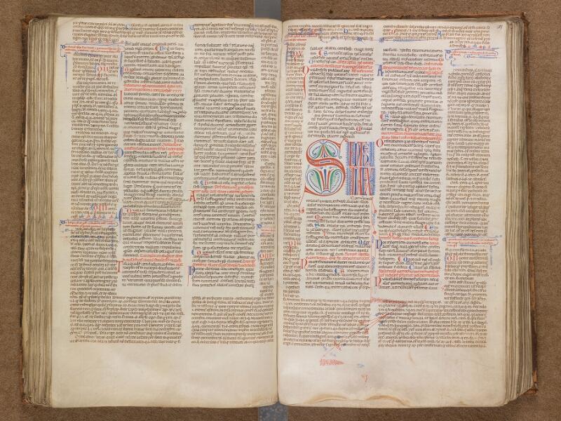 SAINT-OMER, Bibliothèque municipale, 0191, f. 124v - 125