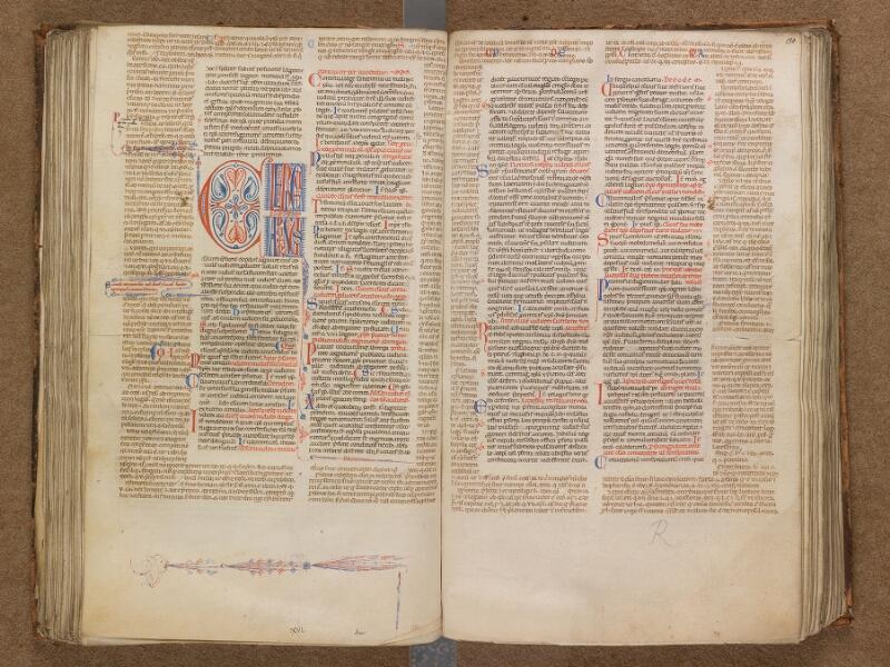 SAINT-OMER, Bibliothèque municipale, 0191, f. 129v - 130