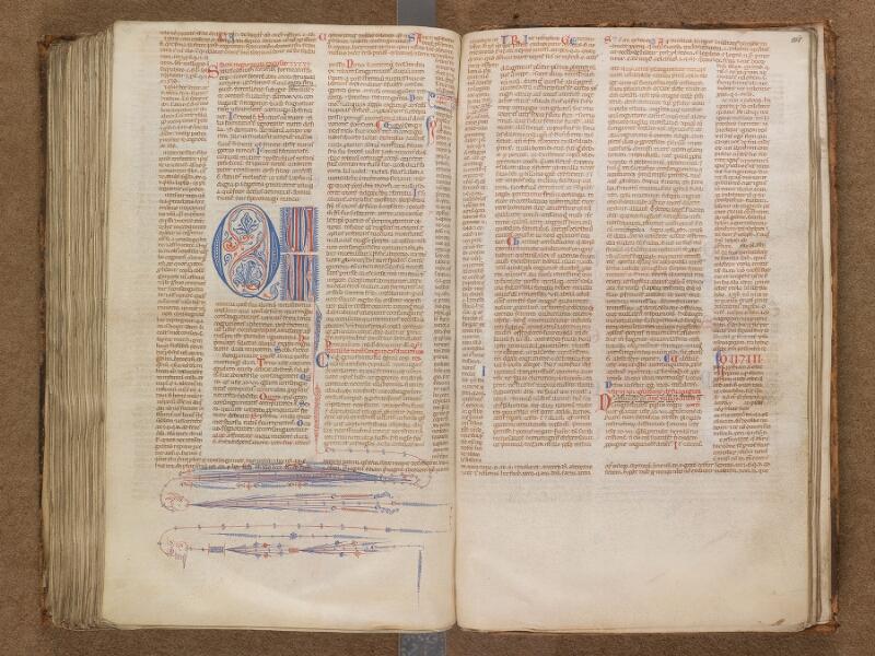 SAINT-OMER, Bibliothèque municipale, 0191, f. 261v - 262
