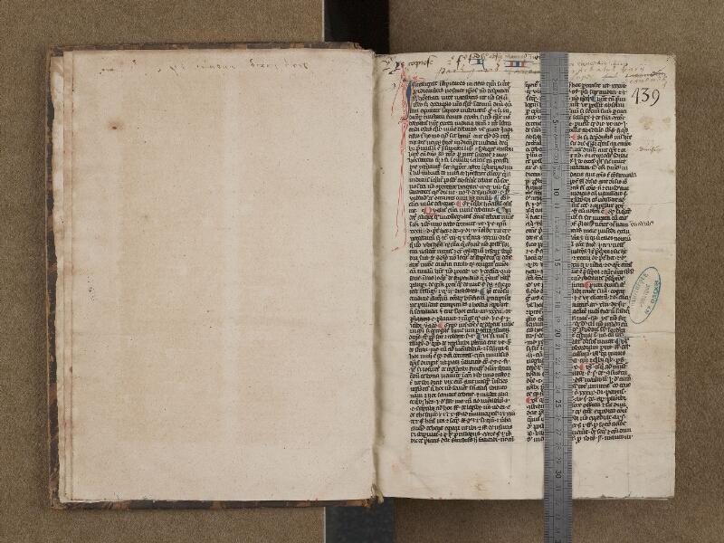 SAINT-OMER, Bibliothèque municipale, 0199, f. 000Bv - 001 avec réglet