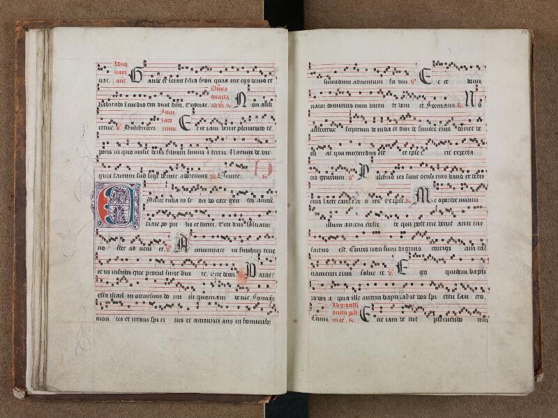 SAINT-OMER, Bibliothèque municipale, 0204, vol. I, f. 021v - 022