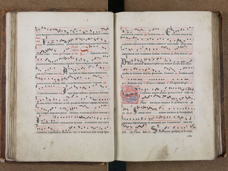 SAINT-OMER, Bibliothèque municipale, 0204, vol. I, f. 035v - 036