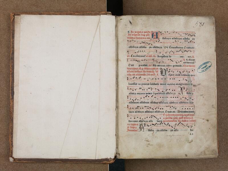 SAINT-OMER, Bibliothèque municipale, 0204, vol. II, f. 000Av - f. 001