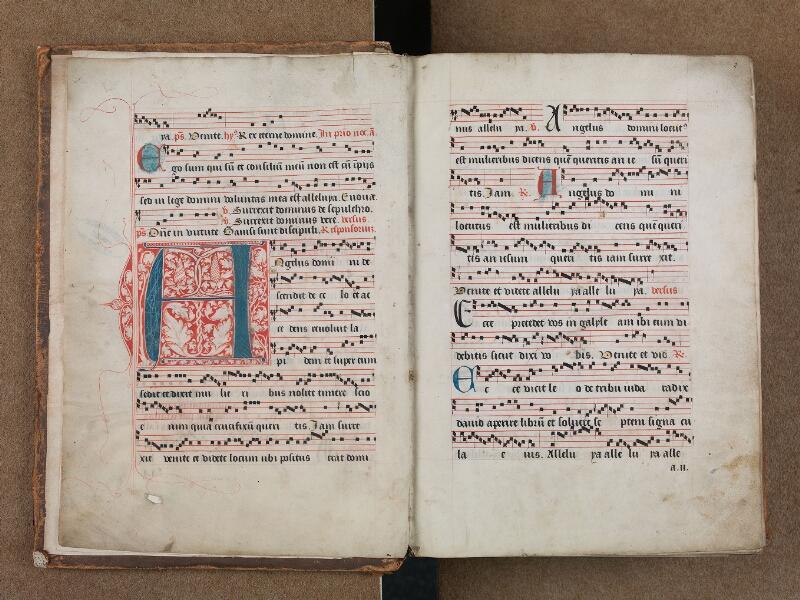 SAINT-OMER, Bibliothèque municipale, 0204, vol. II, f. 001v - 002