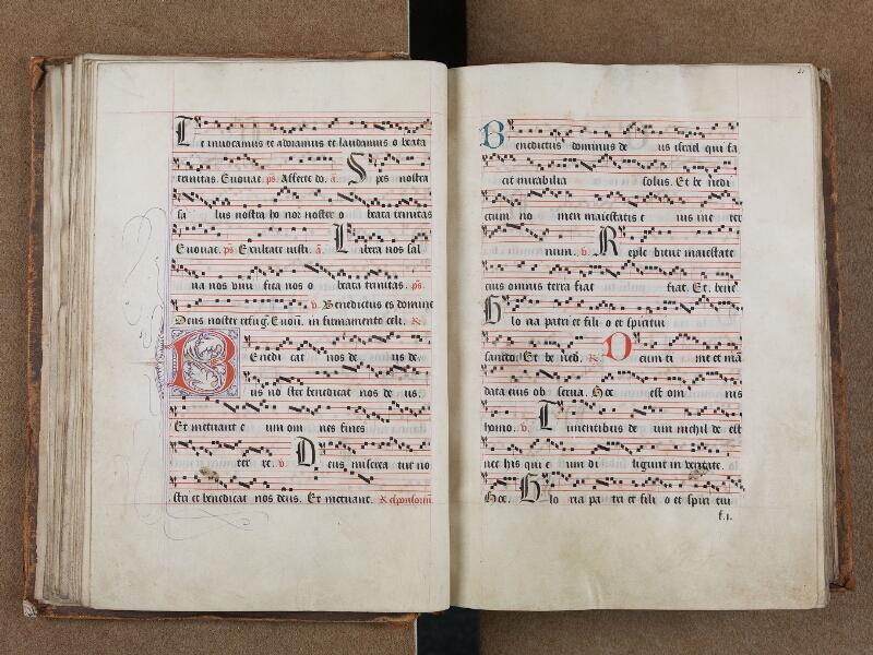 SAINT-OMER, Bibliothèque municipale, 0204, vol. II, f. 040v - 041