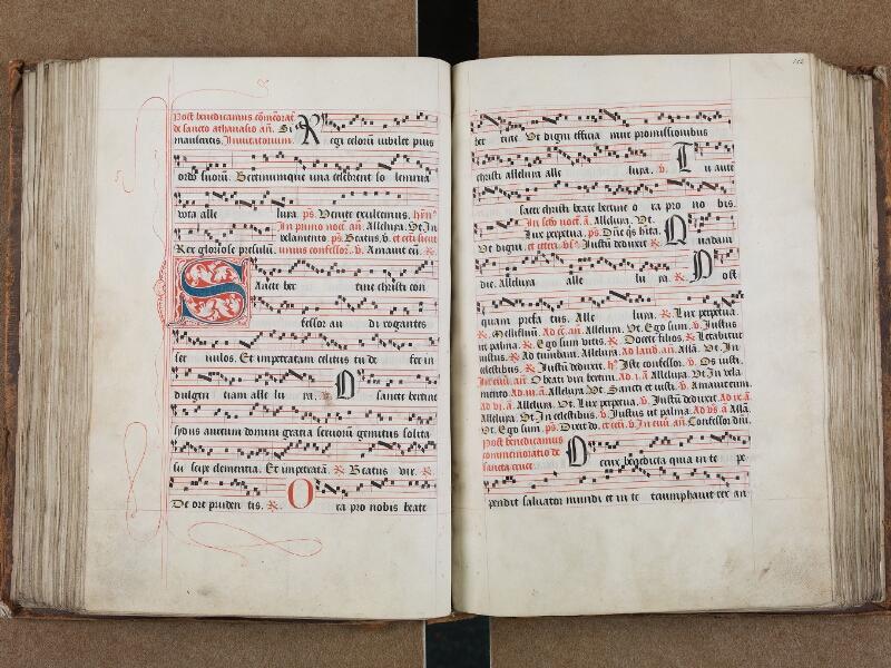 SAINT-OMER, Bibliothèque municipale, 0204, vol. II, f. 111v - 112