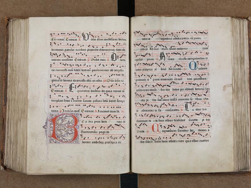 SAINT-OMER, Bibliothèque municipale, 0204, vol. II, f. 182v - 183