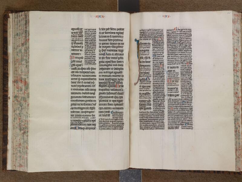 SAINT-OMER, Bibliothèque municipale, 0210, f. 104v - 105