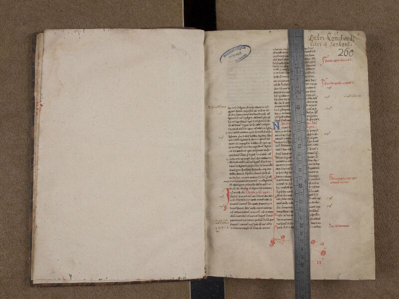 SAINT-OMER, Bibliothèque municipale, 0225, f. 000Bv - 001 avec réglet