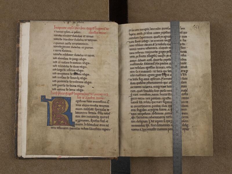 SAINT-OMER, Bibliothèque municipale, 0226, f. 000Bv - f. 001