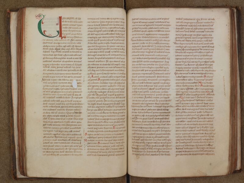 SAINT-OMER, Bibliothèque municipale, 0230, f. 041v - 042