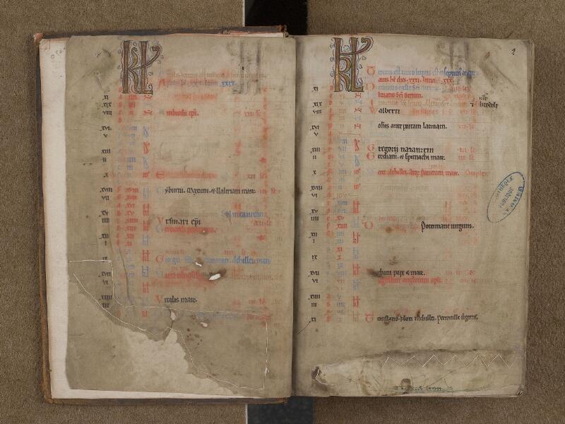 SAINT-OMER, Bibliothèque municipale, 0232, f. 001v - 002