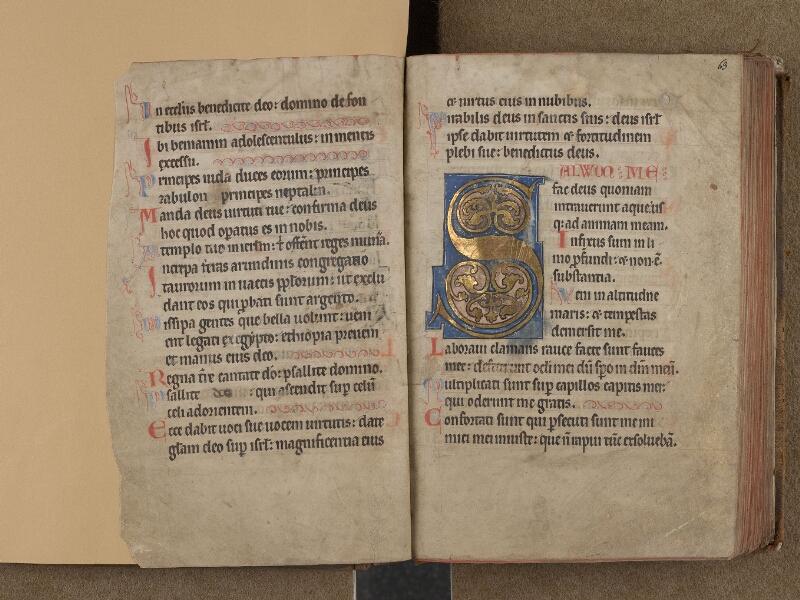 SAINT-OMER, Bibliothèque municipale, 0232, f. 062v - 063