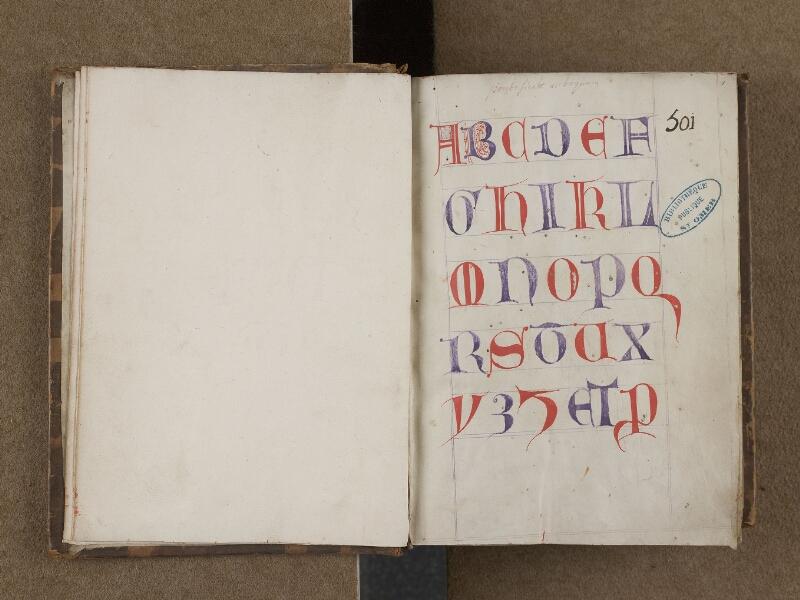 SAINT-OMER, Bibliothèque municipale, 0250, f. 000Cv - f. 001r