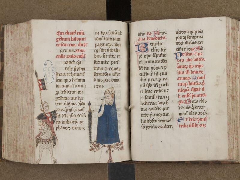SAINT-OMER, Bibliothèque municipale, 0250, f. 310v - 311