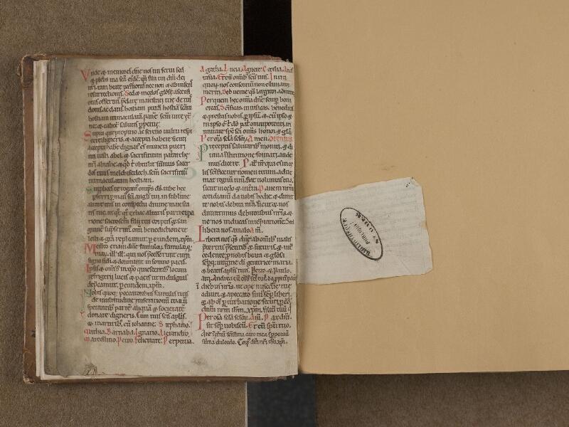 SAINT-OMER, Bibliothèque municipale, 0252, f. 005v - 006 [petit morceau rajouté]