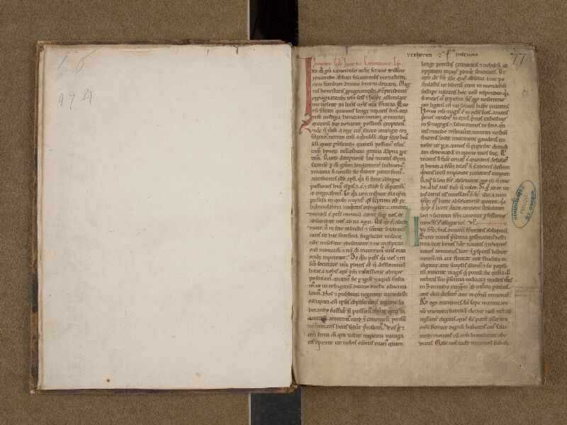 SAINT-OMER, Bibliothèque municipale, 0253, f. 000Av - f. 001