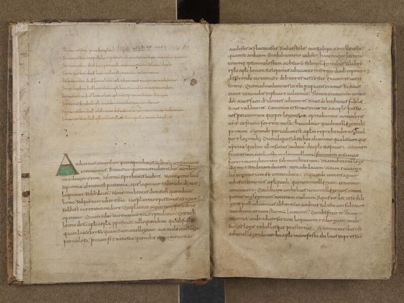 SAINT-OMER, Bibliothèque municipale, 0268, f. 001v - 002