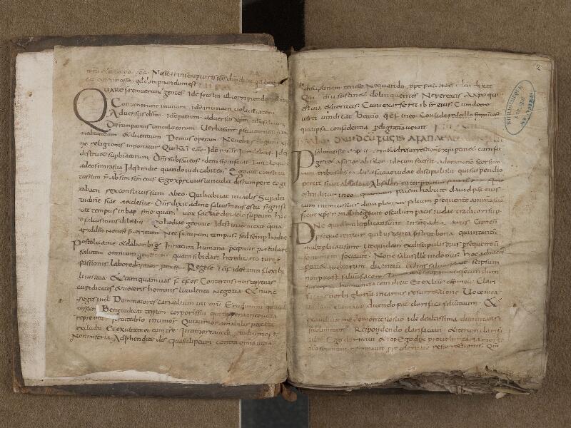 SAINT-OMER, Bibliothèque municipale, 0269, f. 001v - 002