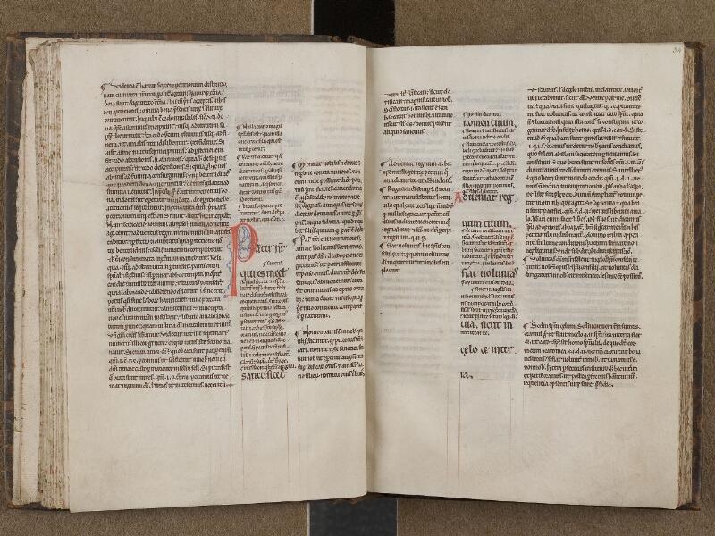 SAINT-OMER, Bibliothèque municipale, 0274, f. 033v - 034