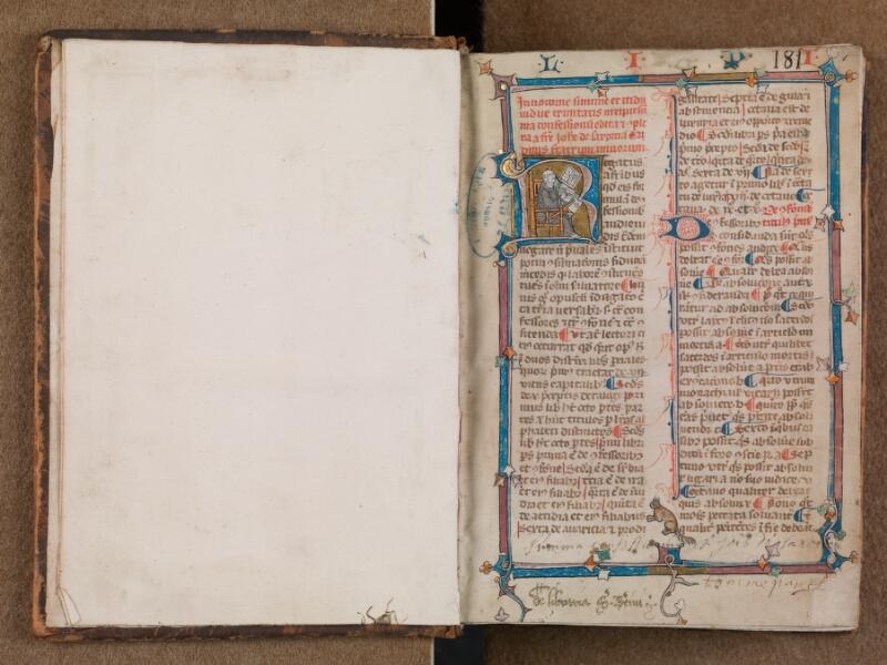 SAINT-OMER, Bibliothèque municipale, 0287, vol. 1, f. 000Bv - f. 001