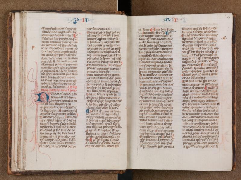 SAINT-OMER, Bibliothèque municipale, 0287, vol. 1, f. 018v - 019
