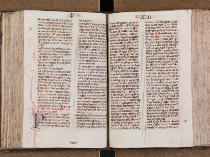 SAINT-OMER, Bibliothèque municipale, 0287, vol. 1, f. 096v - 097