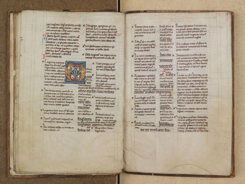 SAINT-OMER, Bibliothèque municipale, 0291, f. 001v - 002
