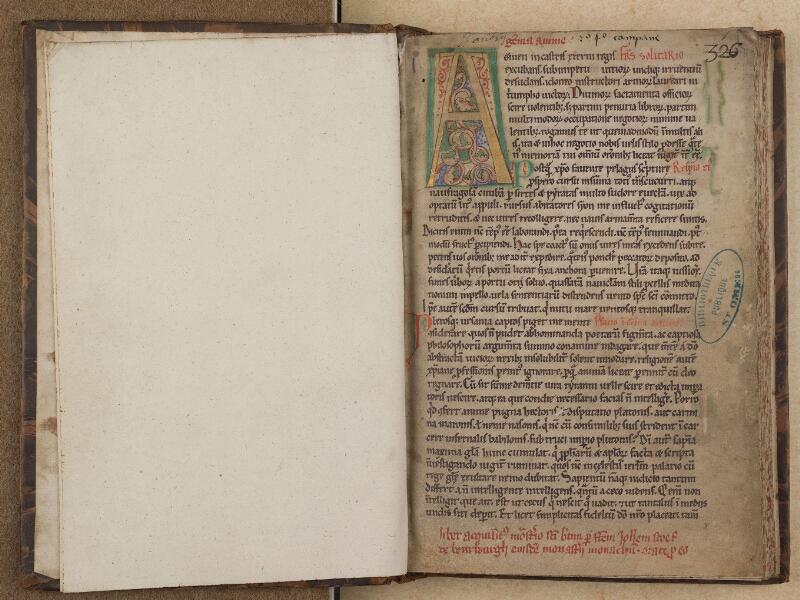 SAINT-OMER, Bibliothèque municipale, 0304, f. 000Cv - f. 001