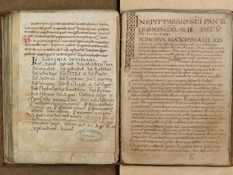 SAINT-OMER, Bibliothèque municipale, 0311, f. 069v - 070