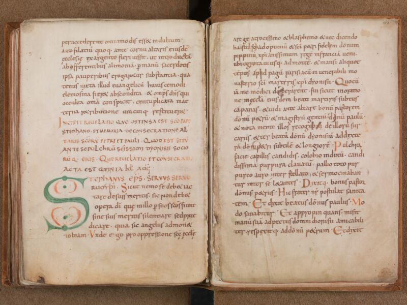 SAINT-OMER, Bibliothèque municipale, 0342 bis, f. 101v - 102 (feuillets détachés)