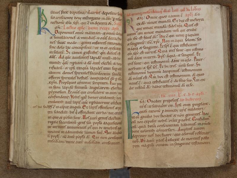 SAINT-OMER, Bibliothèque municipale, 0346, f. 038v - 039