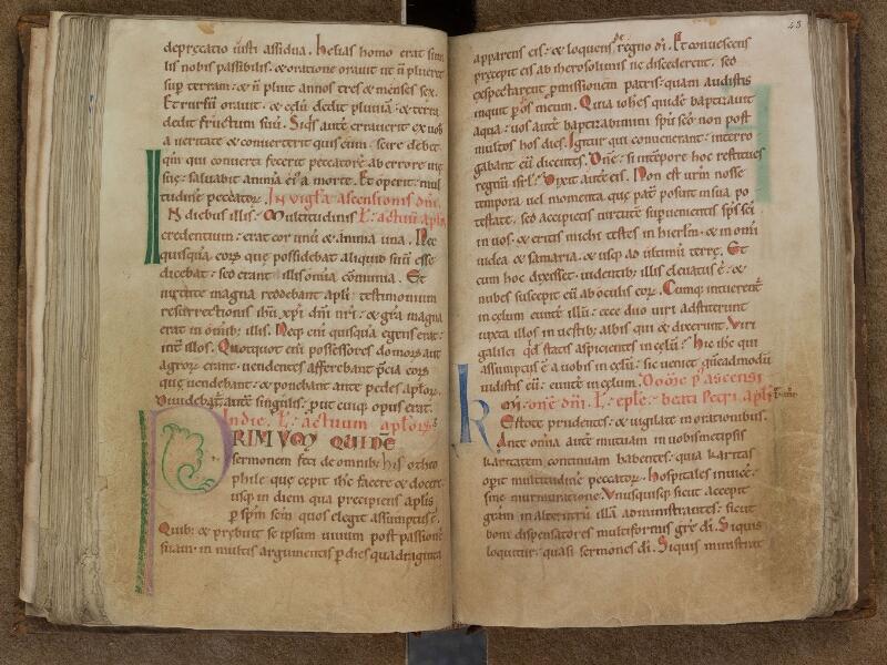 SAINT-OMER, Bibliothèque municipale, 0346, f. 042v - 043